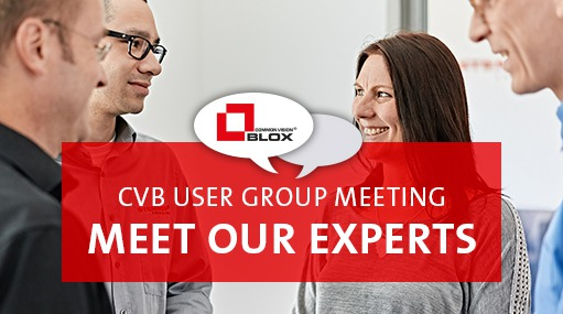 Common Vision Blox - User group meeting 2018