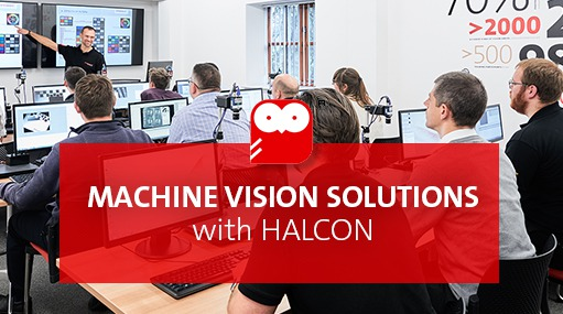 Machine vision solutions with Halcon