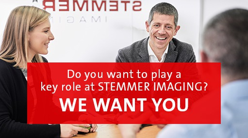 Job vacancies at STEMMER IMAGING