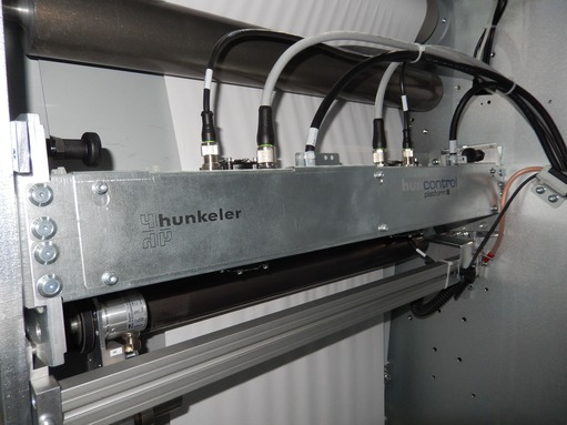 Application story Hunkeler: Mitsubishi Electric AX3 series of Line Scan Bars
