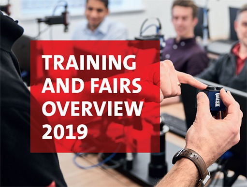 Training and fairs overview 2019