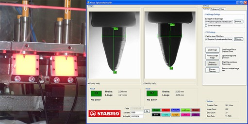 Application story - Stabilo: Inspect pen tips