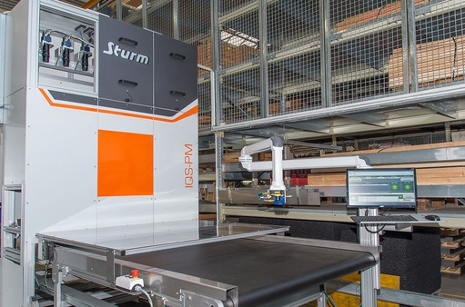 Case study: Sturm-Gruppe - Vision-based inspection of sheet metal parts