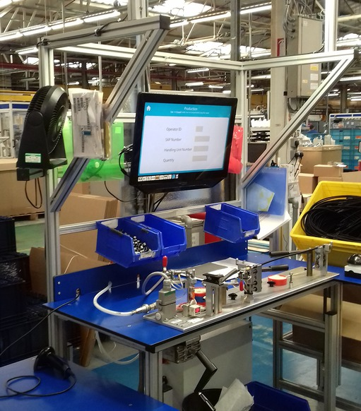 Application story: Kautex Textron CVS - Workbench