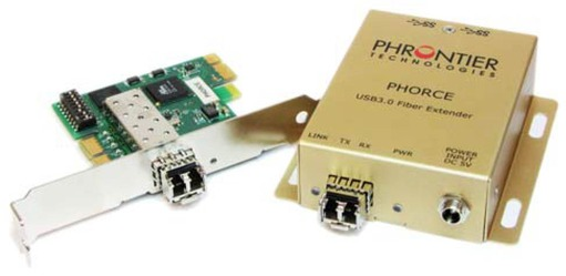 Phrontier Phorce USB 3.0 Extender Cabling Fibre Optics