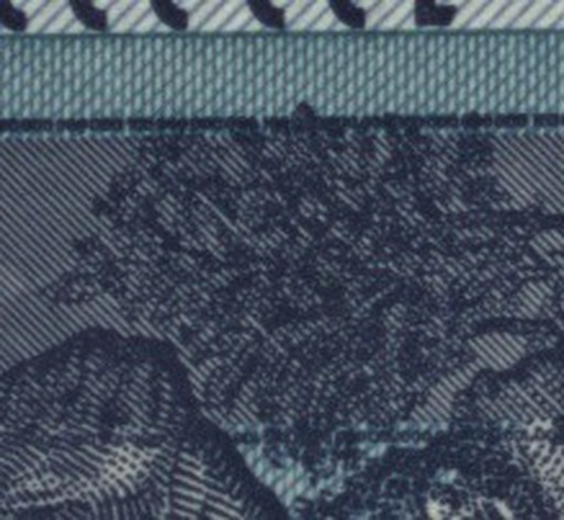 Figure 3 (a): Banknote without pixel shift
