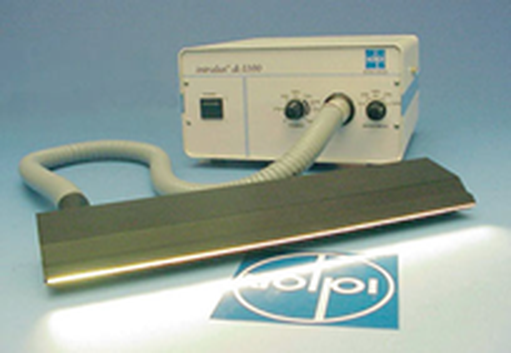 Example of a metal halide cold light source