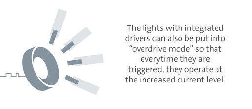 Overdriving lights directly