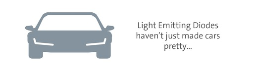 LEDs don't just make cars pretty