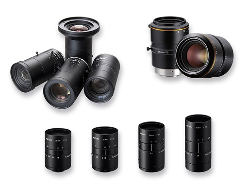 High resolution lenses from Ricoh, Kowa and Tamron offer improved image quality