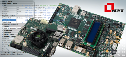 Embedded GigE Vision Server - Common Vision Blox - STEMMER IMAGING