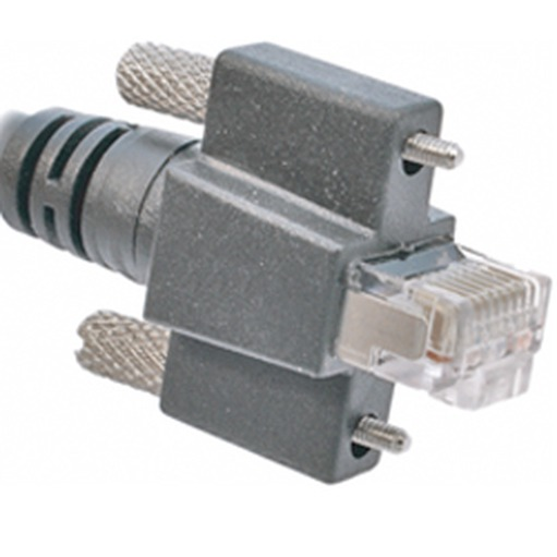 CEI 2, RJ45 vertical with thumbscrews