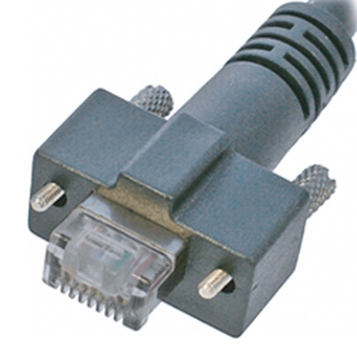 CEI 3, horizontal RJ45 with thumbscrews