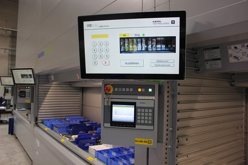 Application report: High-bay towers at Kiefel GmbH - image capture system