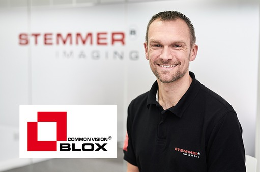 Dr. Jonathan Vickers, Common Vision Blox Product Manager, STEMMER IMAGING