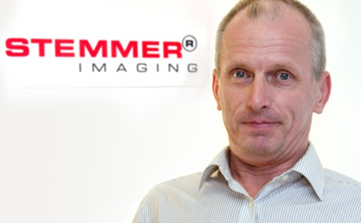 Nigel Doe, Sales Enginieer, STEMMER IMAGING