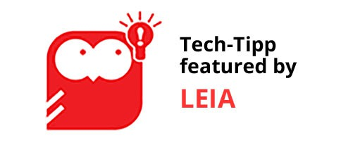 Tech-Tipp featured by LEIA (Learning at European Imaging Academy)