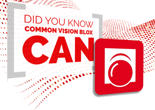 Learn more about acquisition with Common Vision Blox (CVB)
