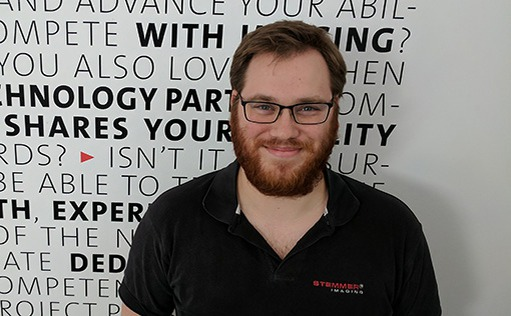 Tristan Hurley, Sales Engineer, STEMMER IMAGING