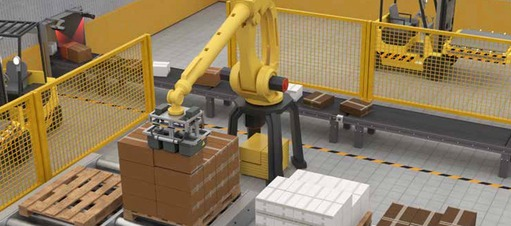 Placing packages onto pallets using 3D information