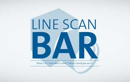 Line scan bar - What is it? How does it work? When should you use it?