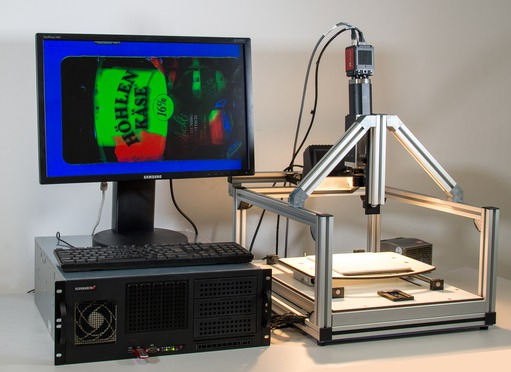 Example of a hyperspectral system from STEMMER IMAGING