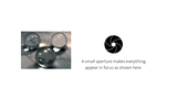 Example small aperture