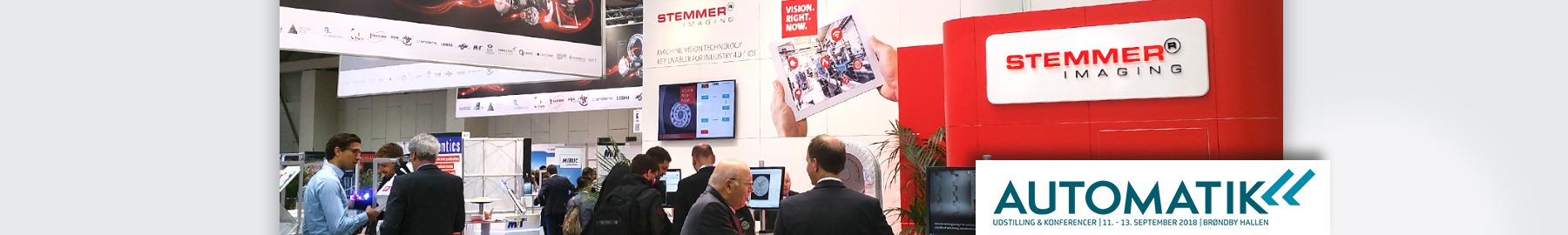 Meet your local STEMMER IMAGING experts at Automatik.