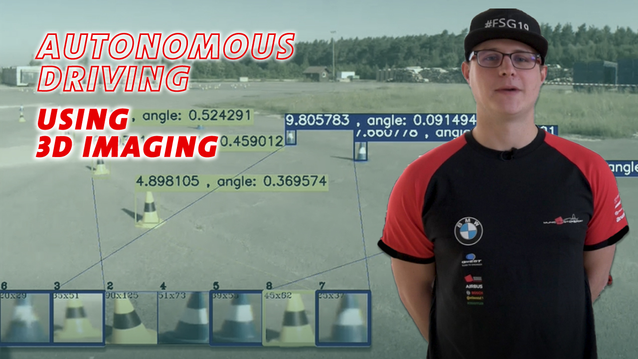 Formula Student: Autonomous driving using 3D imaging (municHMotorsport)