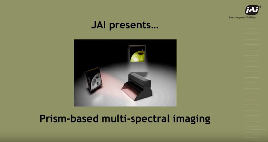 How JAI Fusion cameras support efficient multi-spectral imaging in a wide range of applications