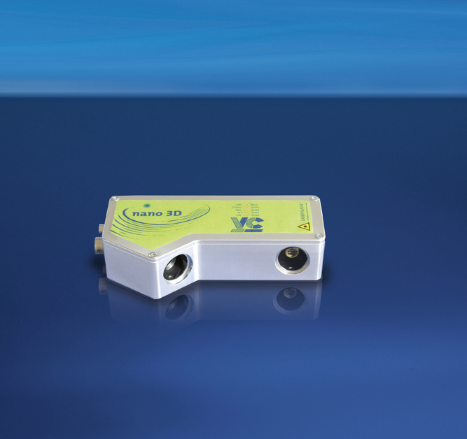 Vision Components VC Nano 3D - Smart laser triangulation system