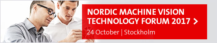 Join the Machine Vision Technology Forum, 24 Oktober 2017, Stockholm