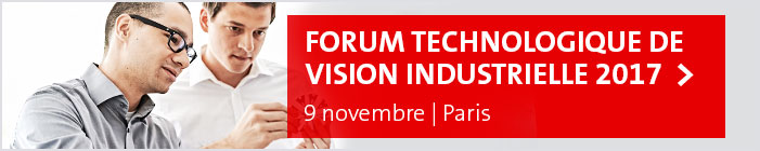 Forum Technologique de Vision Industrielle 2017, 9 novembre, Paris