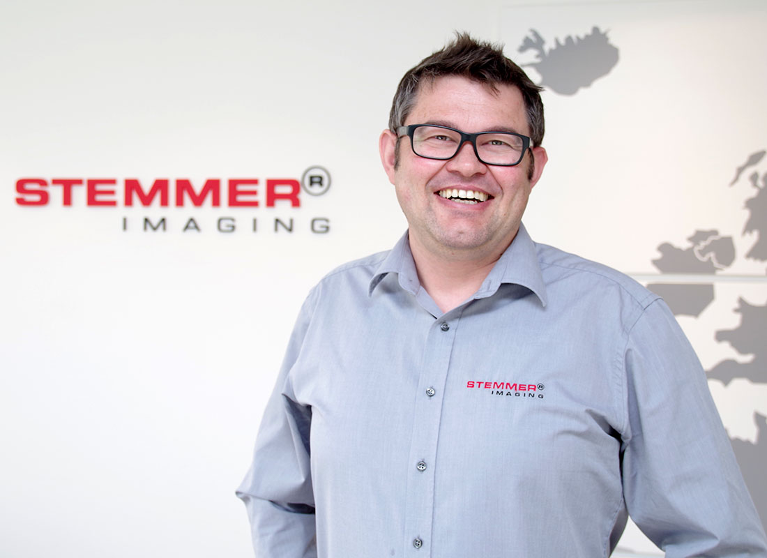 Georg Schelle, Senior Key Account Manager, STEMMER IMAGING