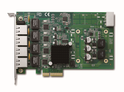 Adlink GIE64+ - Carte d'acqisition PCI Express x4 supportante PoE