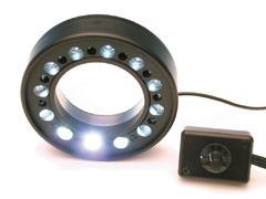 FiberOptic LEDRing - Focusable LED ring light