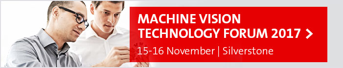 Join the Machine Vision Technology Forum, 15-16 November 2017, Silverstone