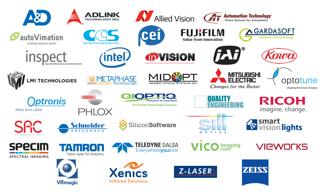All sponsors - Machine Vision Technology Forum by STEMMER IMAGING