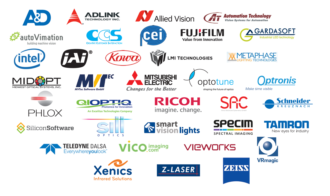 All sponsors - Nordic Machine Vision Technology Forum 2017 by STEMMER IMAGING